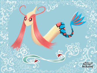 Milotic: The Most Beautiful Pokemon of All Time by Aizenfree