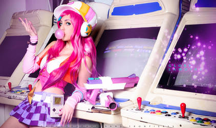 Arcade Miss Fortune Bubblegum! by RainbowMissy