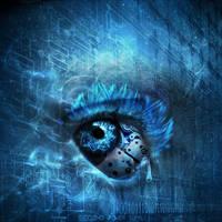 Digital Tear by MigleGolubickaite