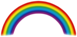PNG RAINBOW by Moonglowlilly