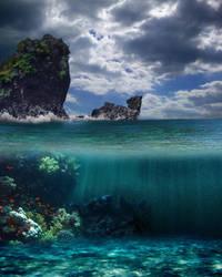 Underwater Bg 3 by Moonglowlilly
