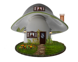 Teacup House by Moonglowlilly