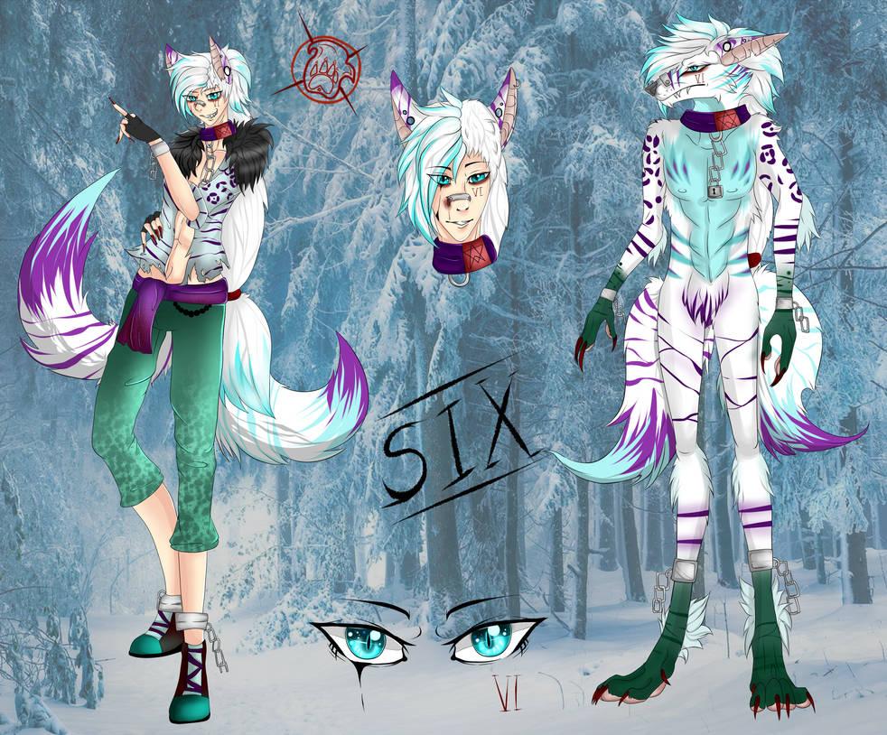 -Six- werwolf full ref by xXFireStarryXx