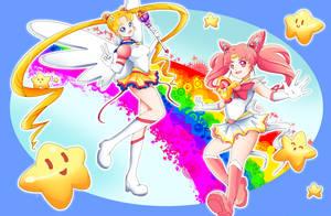 Pretty Soldier Sailor Moon by PenguinAttackStudios