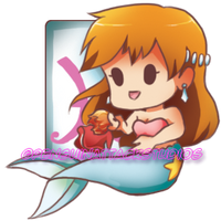 Pisces - Misty and Ponyo by PenguinAttackStudios