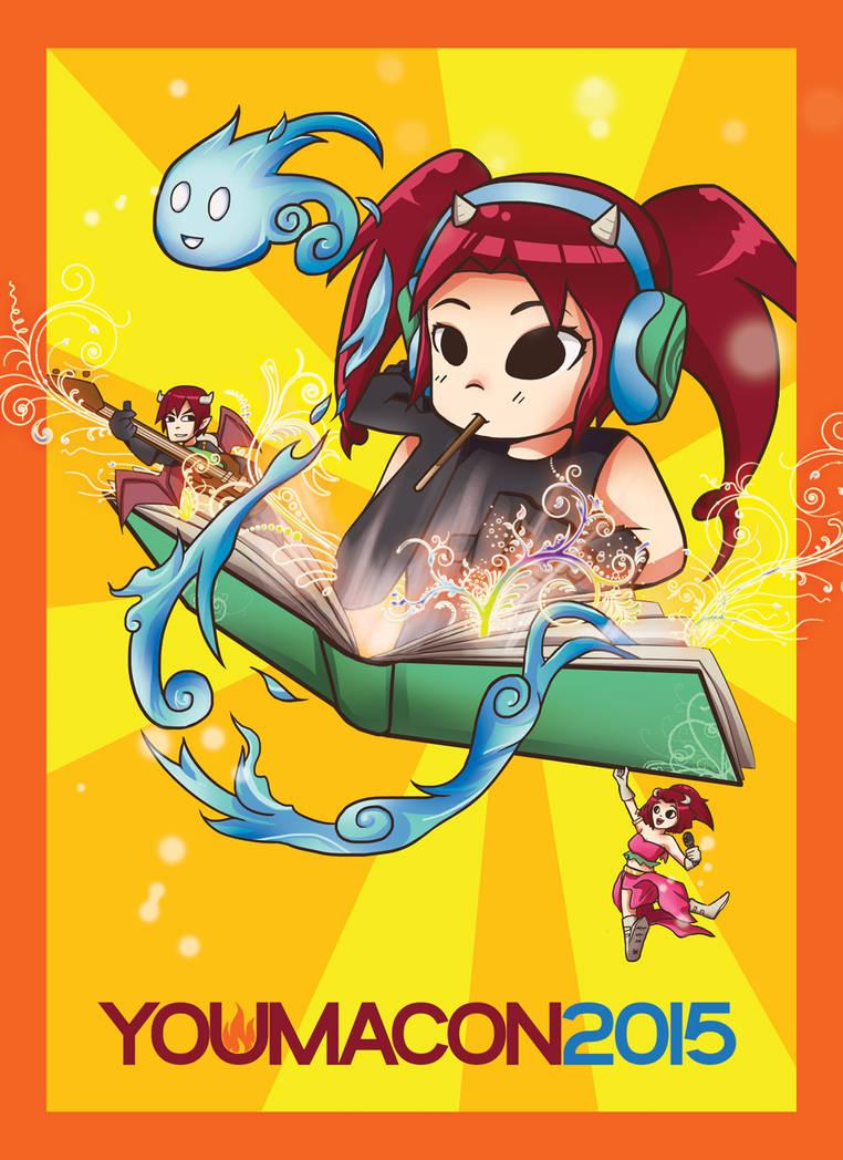Youmacon 2015 Cover Art by PenguinAttackStudios
