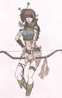 Elf Archer by pupururu