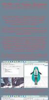 [Huge Tutorial] PMX UV Map Sliders by Arkenidae