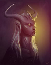 Grand priestess by NetrialisPL
