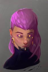 Operator portrait 2 by NetrialisPL