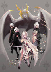 (Commission) Drakengard/NieR by NetrialisPL