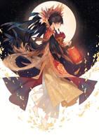Happy Lunar New Year by Kanekiru