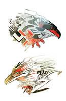 Birds of prey by Ru13