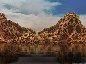 Folding Shore by milleniumsentry