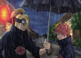 SasoDei: Rain by irusik666