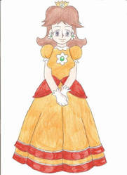 Princess Daisy by animequeen20012003