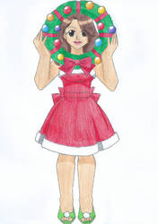 We Wreath You a Merry Christmas by animequeen20012003