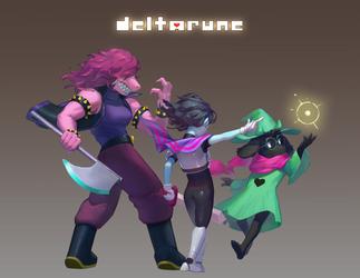 Deltarune by CyeFu