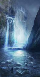 Energy Waterfall by jordangrimmer