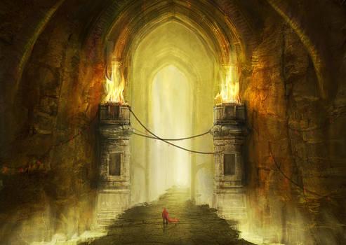 Dungeon Gate by jordangrimmer