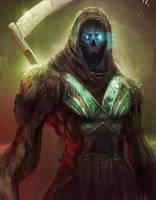 Summoned Reaper by jordangrimmer