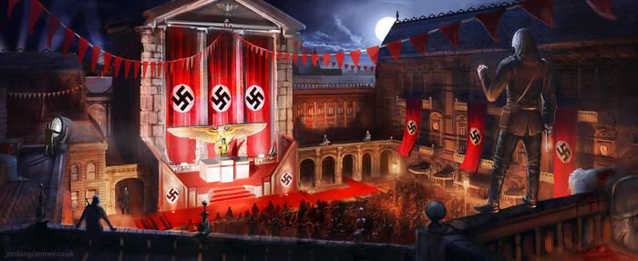 Nazi Hunter by jordangrimmer