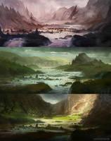 Marshland Speed-Paints by jordangrimmer