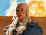 Daenerys Targaryen by jordangrimmer