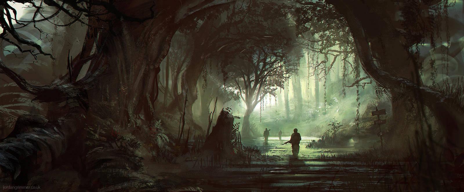Swamp Stalkers by jordangrimmer