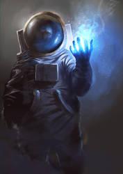 Astronaut Wizard by jordangrimmer