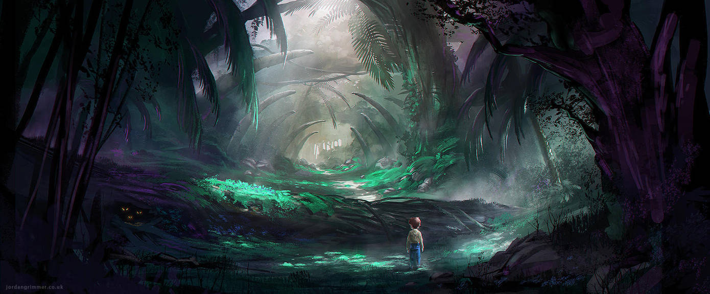 Deep Dark Wood by jordangrimmer