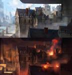 City/Ruins by jordangrimmer
