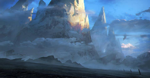 Mountain Range by jordangrimmer