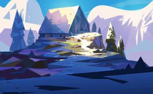 Blue Mountain by jordangrimmer