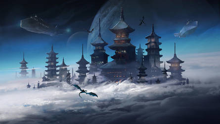 TheFatRat - Fly Away Official Artwork by jordangrimmer