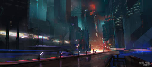 Blade Runner + Process by jordangrimmer
