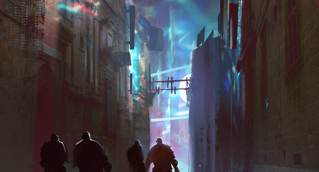 Alley by jordangrimmer