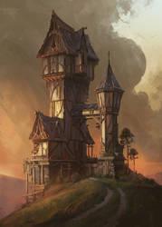 Hilltop House by jordangrimmer