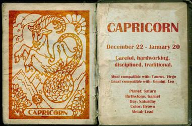 Capricorn by Miss--Dee