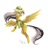 Daring Do by GrayPaint