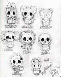 Animal Crossing by ihavenobananas