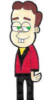 Jimmy Neutron's: Eustace Strych In FOP Style by AnimeAngelArtist1990