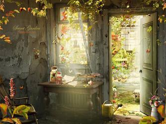 Secret garden by SoulcolorsArt