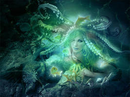 Octopus woman by SoulcolorsArt