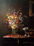 Still life flowers by SoulcolorsArt