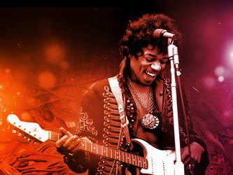 Jimi Hendrix by J9qw