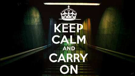 Keep Calm and Carry On by J9qw