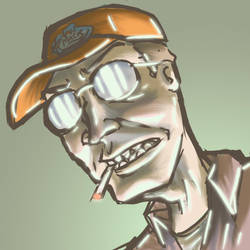 dale gribble by SAKKET