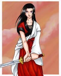 Original - Samurai Girl by Kitsunebi777