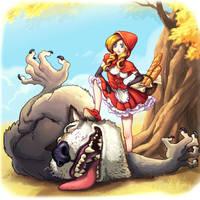 Little Red Riding Hood by xiashi